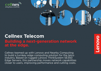 Building a next-generation network at the edge. Case study