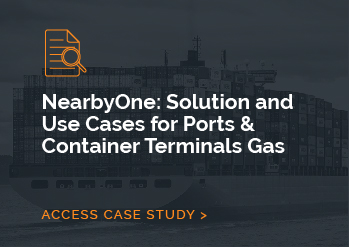 NearbyOne: Solution and Use Cases for Ports & Container Terminals Gas