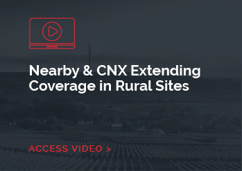 Nearby & CNX Extending Coverage in Rural Sites