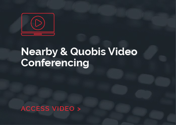 Nearby & Quobis Video Conferencing